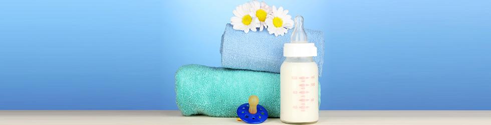 Chupetas e mamadeiras limpas: bebês e crianças protegidas
