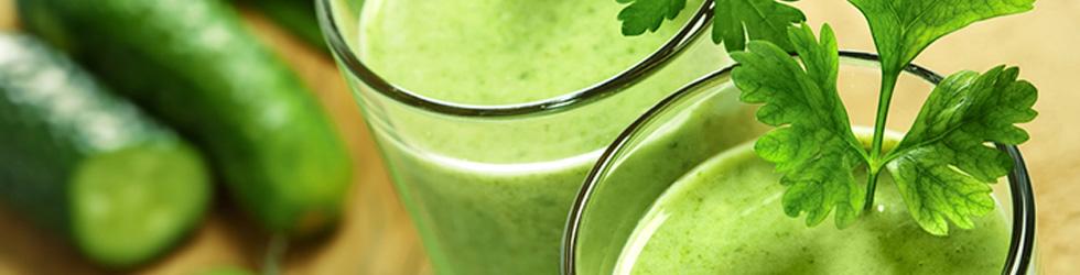 Suco verde saudável de verdade